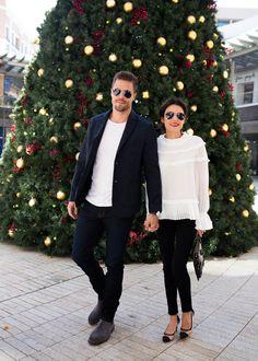 Couples holiday celebrations