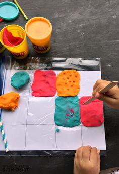 Llama Llama Red Pajama Playdough Sensory Play - The Educators' Spin On It Llama Llama Books, Llama Llama Red Pajama, Llama Pajamas, Red Pajamas, Preschool Letters, Preschool Themes, Toddler Preschool, Preschool Activities, Preschool Curriculum