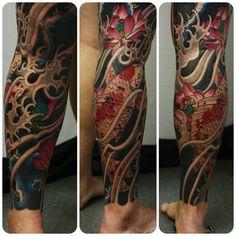 japanese-fish-leg-tattoo