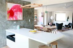 the block australia kim matt artwork living room The Block Room Reveals, Dream Home Design, House Design, The Block Kitchen, The Block Australia, The Block Glasshouse, Little Dream Home, Living Spaces, Living Room