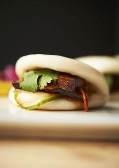 Salmon bao bun Foodie by Iden Pinterest Bao buns Gua bao and