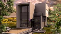 Model 138mp   Case de top Modern House Plans, Home Fashion, Home Projects, Garage Doors, House Styles, Model, Outdoor Decor, Design, Home Decor