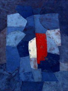 https://flic.kr/p/SxD5GD   IMG_9001H Serge Poliakoff. 1900-1959. Paris. Composition bleue. Blue Composition. 1954.   Colmar. Unterlinden.   Serge Poliakoff. 1900-1959. Paris. Composition bleue. Blue Composition. 1954.   Colmar. Unterlinden.