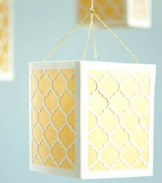 We LOVE lanterns! Make your own paper lantern with your Cricut!