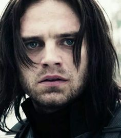 Bucky. Oi... I just felt the walls of my heart crumble. Those eyes. That face. Who did you just lose?