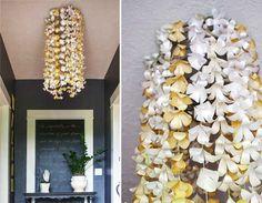 Indoor flower shower. | 10 DIY Ways To Ring In The Spring