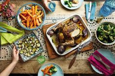 Jesse's roast chicken (from Cook Happy, Cook Healthy by Fearne Cotton)