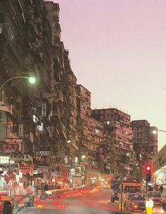Kowloon , the pirate walled city of Hong Kong Hong Kong, Kowloon Walled City, Slums, Environment Design, Cyberpunk, Abandoned Places, Old Photos, Beautiful Places, Scenery