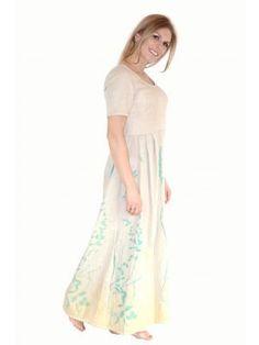 Algen-Zink-Kleid Frühlingszauber Short Sleeve Dresses, Dresses With Sleeves, Fair Trade, Fashion, Seaweed, Casual Wear, Fashion Women, Curve Dresses, Moda