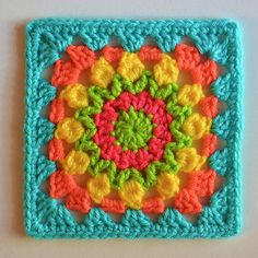 LaurelCraft's Baby Block Cal May #1 ~ free pattern ᛡ