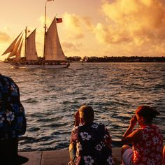 15. Celebrate at Mallory Square in Key West