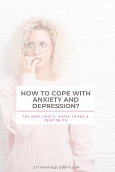How To Cope With Anxiety & Depression? Are you struggling with depression or anxiety? In this post I've listed amazing tools for you that will help you cope better! Mental Health Problems, Mental Health Matters, Mental Health Awareness, Ways To Reduce Stress, Burn Out, Dealing With Depression, Good Motivation, Deal With Anxiety, Law Of Attraction Tips