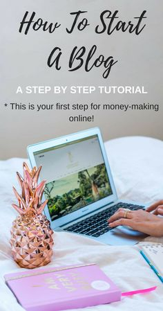Learn how to start a money making WordPress blog on Bluehost - it's so cheap it's almost for free! Click through for a step by step tutorial on www.hedonistit.com