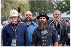 La barba de los hombres, no tiene por que ser aburrida!. Estas son algunas de las mejores barbas de este 2015 (si hay concurso mundial de barbas...). ...