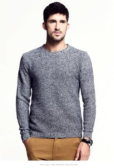 f4b7c5640a7726 Fashion Cashmere Sweater Men Thick Pullover Autumn Winter Long Sleeve  Relaxed Woolen Wholesale Men Sweaters New S 1 1 From Notwo