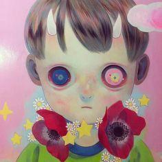 Hikari Shimoda - Kawaii - oil on canvas - 2014 - Young Art Taipei