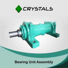 When it befalls to bearing unit assembly, Crystal knows best. Our well-perfected shafts are made to possess the highest tolerance incorporating En8 or En36 grading, that is solidified and tempered to 32-35 HRc to your petitioned dimension.  #crystalsgroup #bearingunitassembly #machines #electricmotor Visit - http://crystals-group.com/