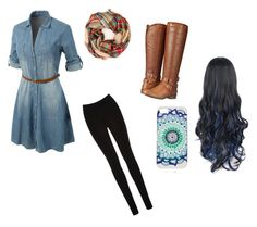 """monday evenings"" by wild-tiger16 ❤ liked on Polyvore featuring LE3NO, Oasis and Madden Girl"