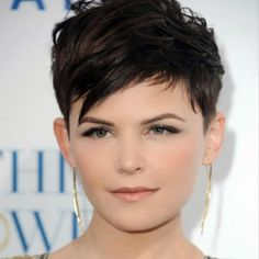 Hairstyles For Fat Faces - The Pixie Cut                                                                                                                                                                                 More