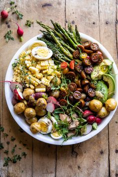 This vibrant Summer Niçoise Salad feels extra fancy, yet is perfect for summer lunches, dinners or even served up at your next backyard dinner party.