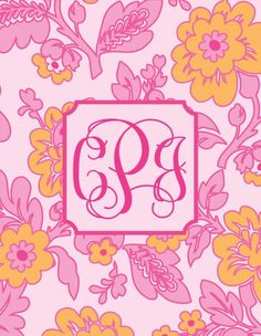 free-printable-monogram-botanical-flower-pink-orange copy-page-001
