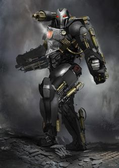 Iron Man version steampunk - Conor Burke