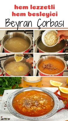 Beyran Soup (Local) (with video) – Yummy Recipes - Türkische Küche Ideen Turkish Recipes, Ethnic Recipes, Turkish Sweets, Turkish Kitchen, Good Food, Yummy Food, Lokal, Fresh Fruits And Vegetables, Chef Recipes