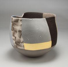 THOMAS HOADLEY colored porcelain, gold leaf