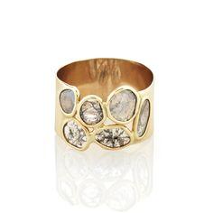 slice diamond rings | Caillou Diamond Slice Ring | Vale Jewelry
