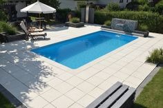 20 Awesome Small Inground Swimming Pools Design Ideas for Your Backyard – GooDSGN Inground Pool Designs, Small Inground Swimming Pools, Swimming Pool Size, Oberirdische Pools, Small Backyard Pools, Swimming Pool Designs, Pool Sizes Inground, Lap Pools, Small Pools
