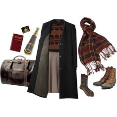 """I'll be back in a week."" by melissalackey on Polyvore"