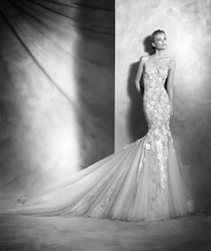 Vilén - sukienka syrena ślubne z koronki | Pronovias