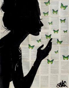 "Saatchi Art Artist Loui Jover; Drawing, ""simplicity (green)"" #art"