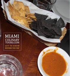 Chips and salsa jaguar restaurant Miami