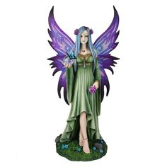 Mystic Aura by Anne Stokes (Limited Edition) figurine 39cm   Nemesis Now Dragon Fairy Unicorn Figurines & all things mythical