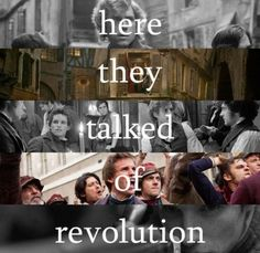 Here they talked of revolution