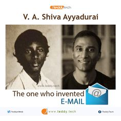 Meet V. A Shiva Ayyadurai, The Indian - American who invented the 'Email' system at 14 years of age.  ‪#‎shivaayyadurai‬ ‪#‎email‬ ‪#‎system‬ ‪#‎internet‬ ‪#‎inventor‬ ‪#‎mail‬ ‪#‎computer‬ ‪#‎technology‬