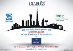 We cordially Invite you to the Global Launch of our Products & Innovations.