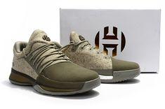 "February 20,2017 Shoes BW0550 Adidas Harden Vol. 1 ""Cargo"" Gargo Green"