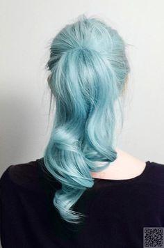 5. Blue - 43 #Girls Rocking #Pastel Hair ... → Hair #Ombre