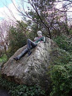 James Joyce Statue, Steven's Green, Dublin, Ireland