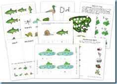 Pond Life Printable Pond Life covers so many things that kids love: bugs, frogs and water!