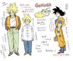 Goku and Gohan「悟空さについてのメモ」/「ミイコ」のイラスト [pixiv]