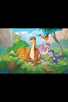 The land before time I have every single movie