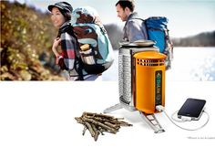 BioLite CampStove: Camp Stove With a USB Port For Mobile Phone Charger    Read more: http://twitteling.com/#ixzz2FN1j2uu2