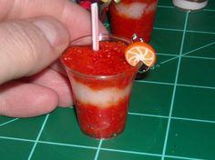 Miniature 1:3 Scale Orange Creamsicle Drink by CobaltMoonJewelry, $4.95