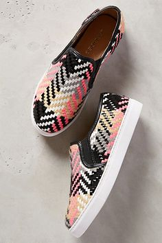 J Slides Fletcher Sneakers #anthrofave