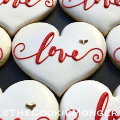 valentines day cookies Image may co -