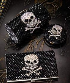 Skulls:  #Skull and crossbones accessories.