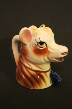 Vintage Cow Creamer - Dreamy Eyes - Unique and cute - Conversation Starter - Made in Japan